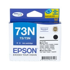 Epson Genuine T1051 (73N) Black Ink Cartridge