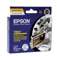 Epson T0631 Genuine Black Ink