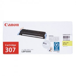 Canon CART-307 Genuine Yellow Toner