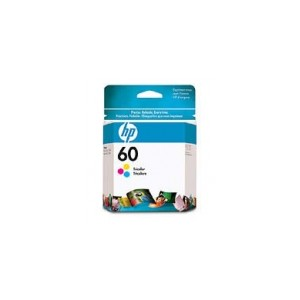 HP 60 Genuine Tri Colour Ink CC643WA