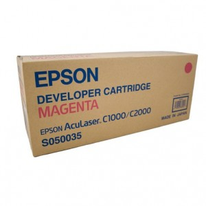 Epson Genuine S050035 Magenta Toner Cartridge