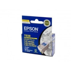 Epson Genuine T038 Black Ink Cartridge
