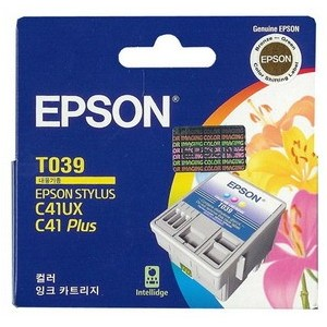 Epson Genuine T039 Colour Ink Cartridge C13T039190