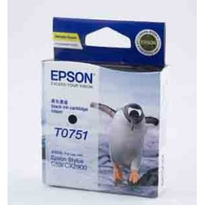 Epson Genuine T0751 Black Ink Cartridge