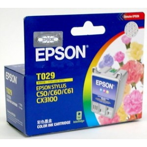Epson Genuine T029 Colour Ink C13T029091