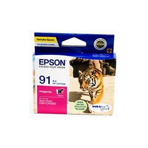 Epson T1073 (91N) Genuine Magenta Ink Cartridge